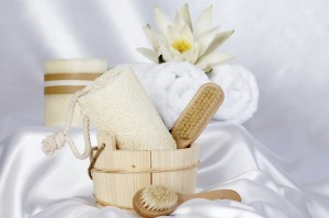 dry brush exfoliating: Philadelphia spa