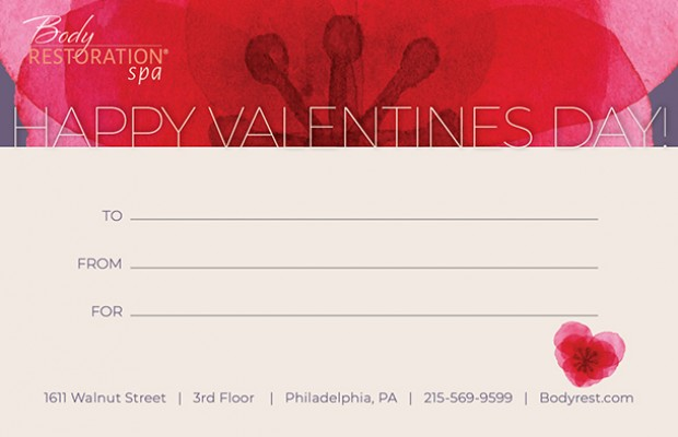 Gift Certificate Valentines