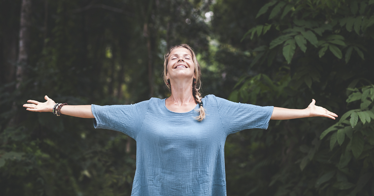 Self care connect with nature